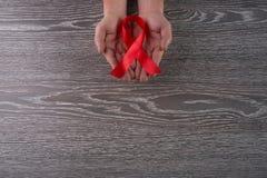 VIH de las ayudas Foto de archivo libre de regalías