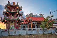 "Vihara Satya Dharma est un temple chinois moderne au port de Benoa, Bali C'est un temple de ""Satya Dharma ""ou de ""Shenism "", l'As photos libres de droits"