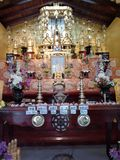 Viharaya du Japon Saama, Rumassela, Galle, Sri Lanka image stock
