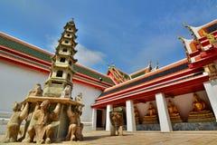 The Viharn. Wat Pho. Bangkok. Thailand Stock Photos