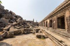 vihear preah的寺庙 图库摄影