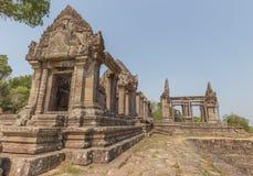 vihear preah的寺庙 免版税库存图片