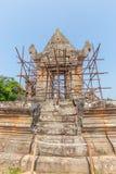 vihear preah的寺庙 库存图片