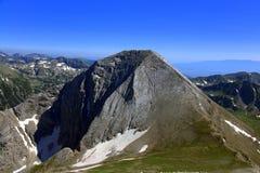 Vihren peak - The Lord of The Pirin Royalty Free Stock Image
