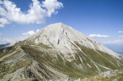 Vihrenpiek in de Pirin-berg, Bulgarije Stock Foto's