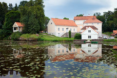 Vihula Manor. At Virumaa, Estonia - view to some of buildings of the manor complex Royalty Free Stock Photography
