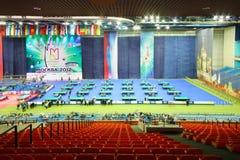 VII copo internacional 2012 do Kremlin do competiam dos bilhar Foto de Stock