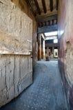 Viia drzwi, Pompeii, Włochy zdjęcia stock