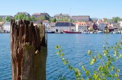 viiew del puerto Fotos de archivo libres de regalías