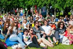 VIII International Jazz Festival Stock Photo