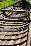 Viiking小船 库存图片