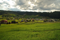 Romania village  Royalty Free Stock Photo