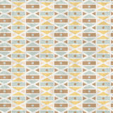 Viintage geometrical seamless pattern Royalty Free Stock Photos