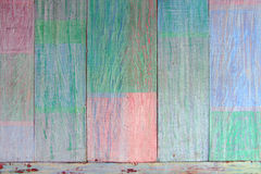 Viintage wooden pastel background. Stock Photo
