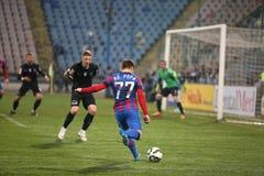Viitorul Constanta playing against Steaua Bucuresti Stock Image