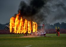 Vijay Diwas-Feier bei Kolkata lizenzfreies stockbild