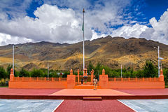 Vijay Rath minnesmärke, symbol av den indiska segern i den Kargil krigoperationen 1999 Vijay Royaltyfri Bild