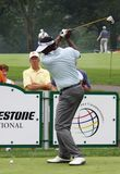 Vijay Singh tees off Royalty Free Stock Photography