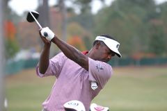 Vijay Singh, Tour Championship, Atlanta, 2006 Royalty Free Stock Photos