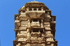 Vijay stambh Chittourgarh, Rajasthan, Ινδία Στοκ Εικόνες