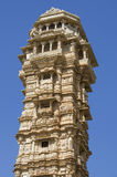 Vijay Stambkh, a tower victories in a fort Chittorgarkh India. Vijay Stambkh  tower victories in a fort Chittorgarkh India Stock Photos