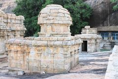 Vijayalaya temple. This is a very old temple constructed during the rule of Chola kings. This is located at Narthamalai, Pudukkottai Stock Photo