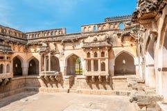 Vijayanagar废墟 免版税库存图片