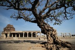 Vijayanagara Empire in Hampi Stock Image