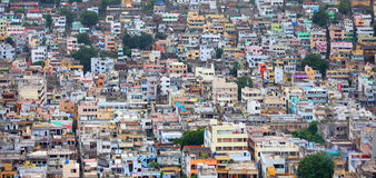 Vijayawada cityscape Royalty Free Stock Photos