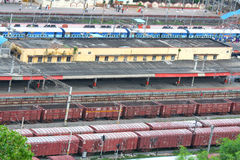 Vijayawada Junction Royalty Free Stock Images