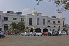 Vijayawada railway station Stock Images