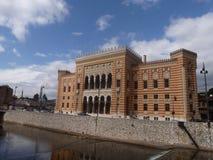 Vijecnica-Rathaus Stockfotos
