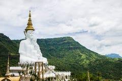Vijf Boedha standbeeld bij de Tempel van Wat Pra That Pha Son Keaw, khao kor royalty-vrije stock afbeelding