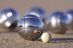 Vijf boules Royalty-vrije Stock Foto