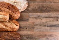Vijf Broden van Brood Stock Foto