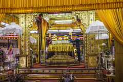 Vijf buddhastempel Stock Foto's