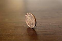 Vijf centen royalty-vrije stock foto