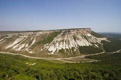 (Vijf dorpen) plateau besh-Kosh Stock Foto's