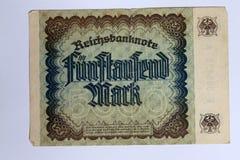 vijf duizend tekens Royalty-vrije Stock Afbeelding