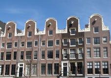Vijf gelijkaardige gebouwen Stock Afbeelding