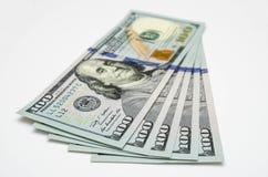 Vijf honderd dollars van de V.S. Royalty-vrije Stock Foto's