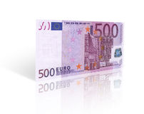 Vijf honderd euro Royalty-vrije Stock Foto