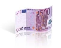 Vijf honderd euro Royalty-vrije Stock Foto's