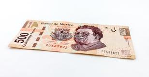 Vijf Honderd Peso's Royalty-vrije Stock Foto