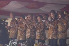 VIJF JAAR BAILOUT VAN DE DE EEUWbank VAN INDONESIË SCHANDAAL stock afbeeldingen