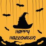 Vijf knuppels in Halloween Vector Illustratie