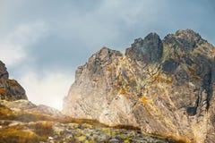 Vijf merenvallei in Hoge Tatra-Bergen, Polen Royalty-vrije Stock Foto