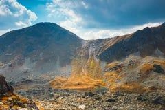 Vijf merenvallei in Hoge Tatra-Bergen, Polen Royalty-vrije Stock Afbeelding