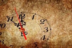 Vijf minuten aan Nieuwjaar Royalty-vrije Stock Foto's