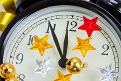 Vijf minuten tot middernacht Royalty-vrije Stock Afbeeldingen